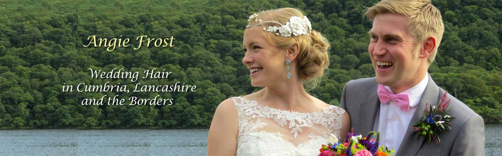 wedding hair by angie frost hairdresser pooley bridge penrith cumbria